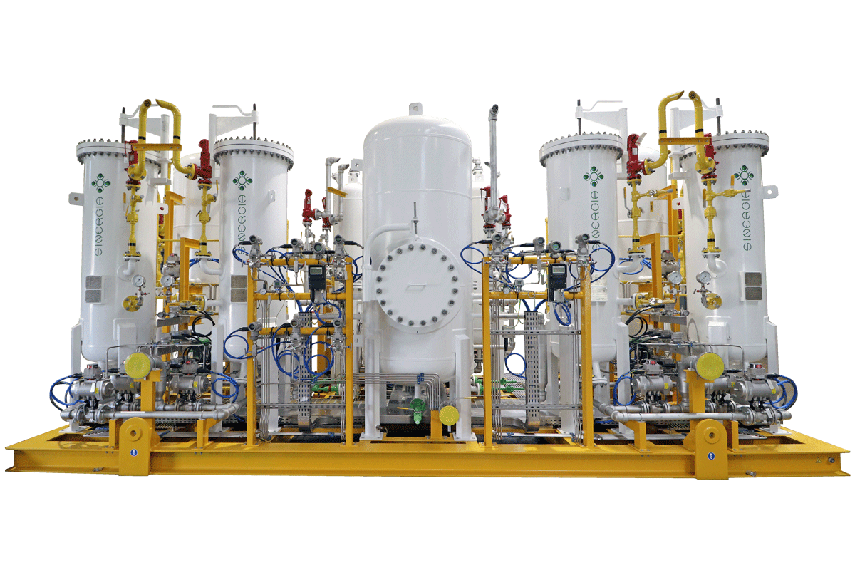 Sinergia PSA Nitrogen Generator And Heatless Dryer (7381))